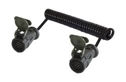 12 Kontak 24 V 3.50 Metre Spiral Kablolu Erkek Konnektör (VG 96927-22)