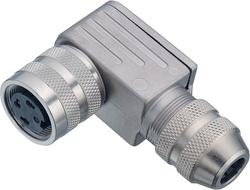 Franz Binder - Dişi Açılı Kablo Tip 7 Kontaklı Konnektör